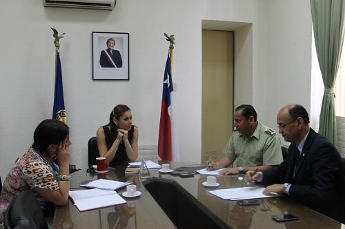 Linares gobernaci n y polic as enfocar n su trabajo de for Llamado del ministerio del interior 2016