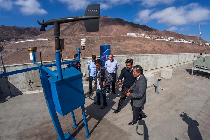 Antofagasta 14 nuevas estaciones pluviom tricas online for Llamado del ministerio del interior 2016