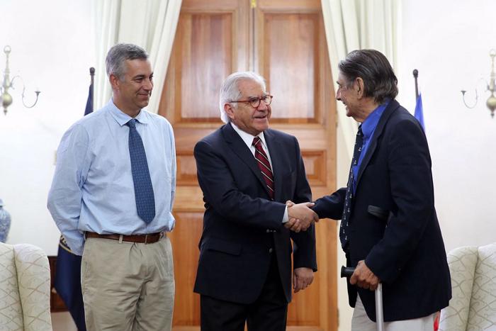 Ministro del interior se reuni con representantes del for Escuchas del ministro del interior