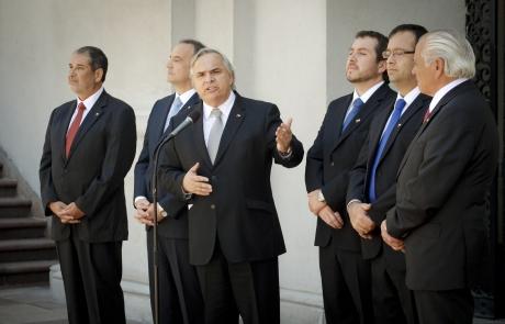 Presidente sebasti n pi era nombr a nuevos subsecretarios for Ministerio del interior pagina oficial