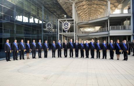 Presidente pi era encabez 80 aniversario de la polic a for Ministerio del interior pagina oficial